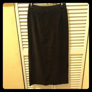 Gorgeous ,Pristine condition ,Faux Suede Skirt
